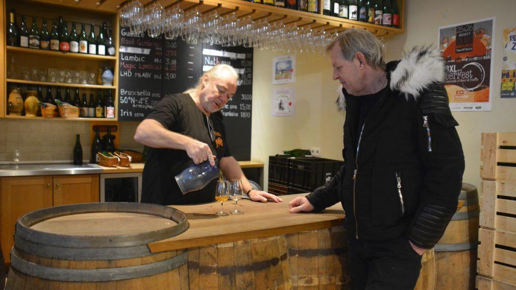 Bryggerier i Belgien - Cantillion i Bryssel