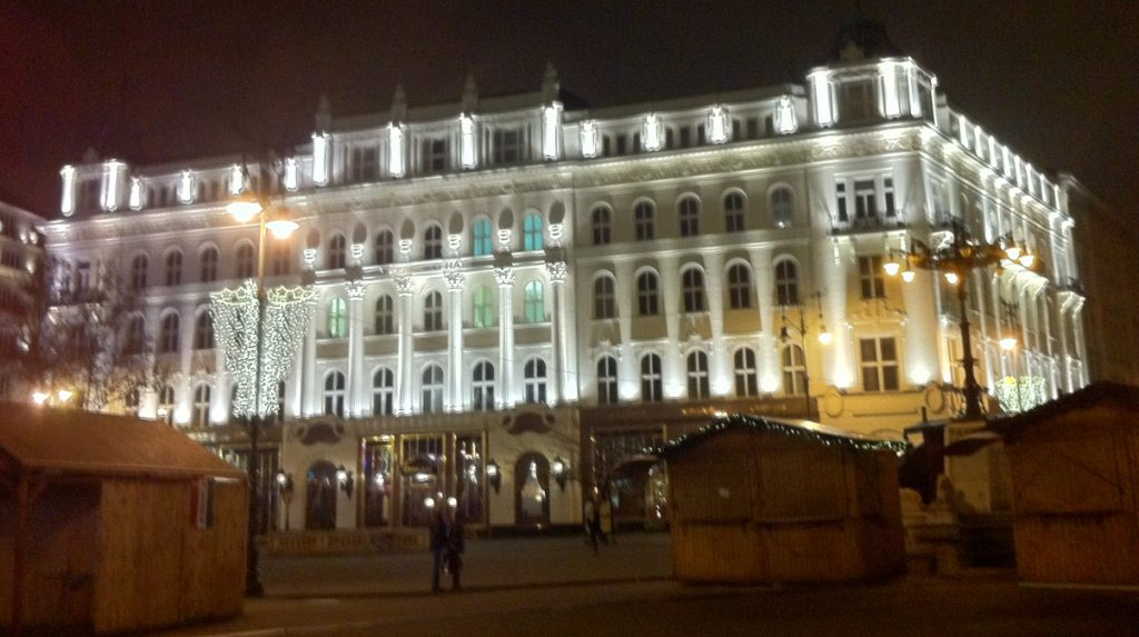 Budapest kväll