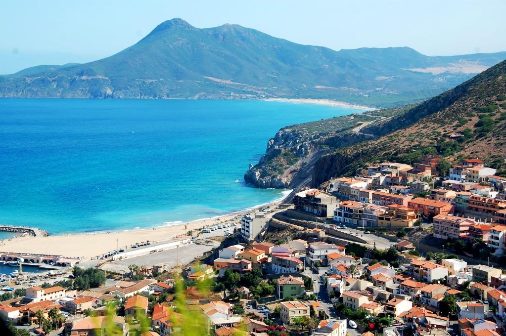 Buggerru på Sardiniens västkust