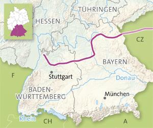 vackra vägar i Tyskland: Slottsvägen