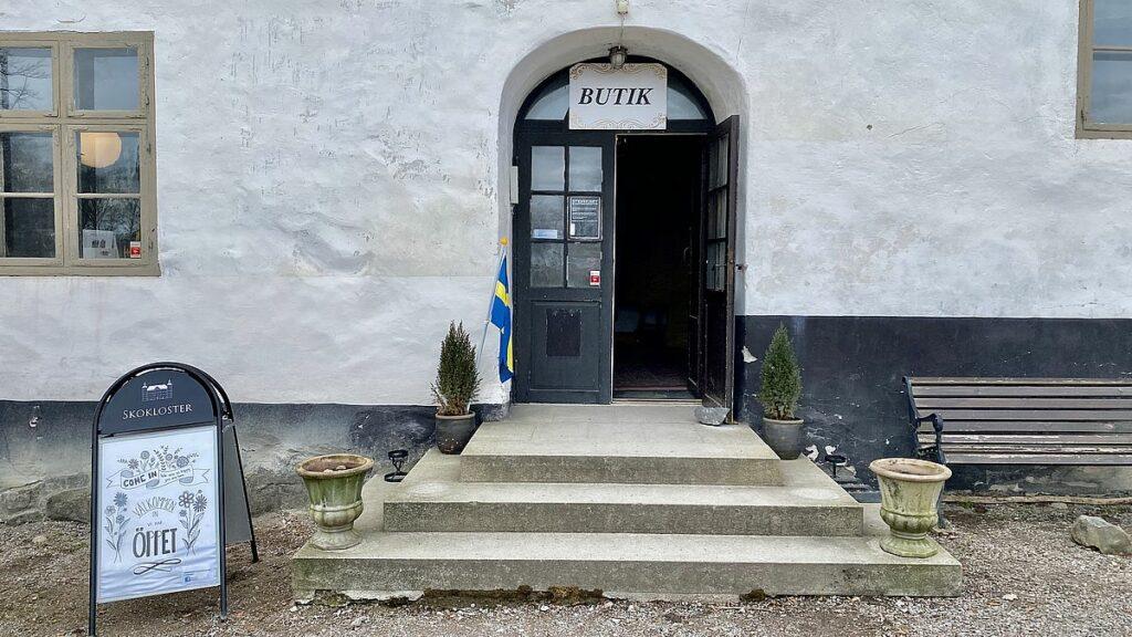 Butiken vid Skokloster slott