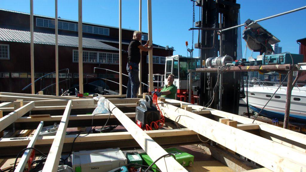 Bygga husbåt