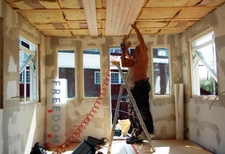 Bygga in ventilationsrör