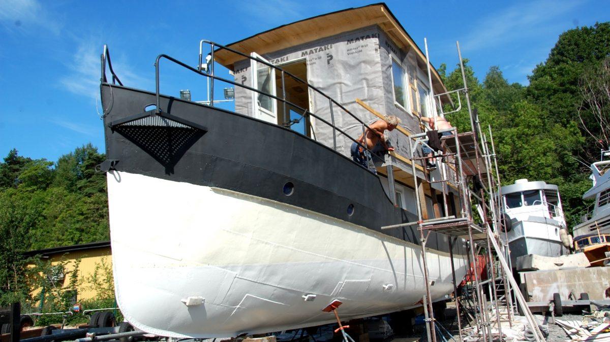 bygge husbåt