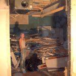 När vi byggde lägenheten
