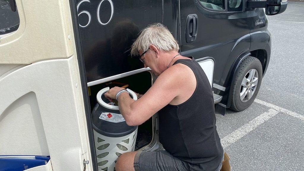 Problem med gasolen i husbilen - byta gasolregulator