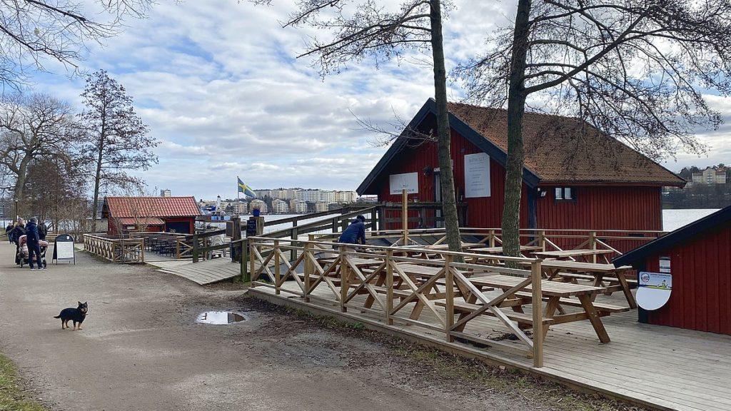 Café vid Huvudsta gård