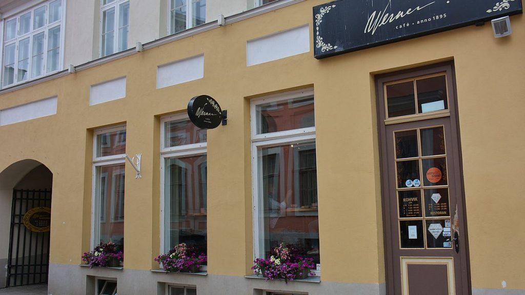 Göra i Tartu? Dricka kaffe på café Werner