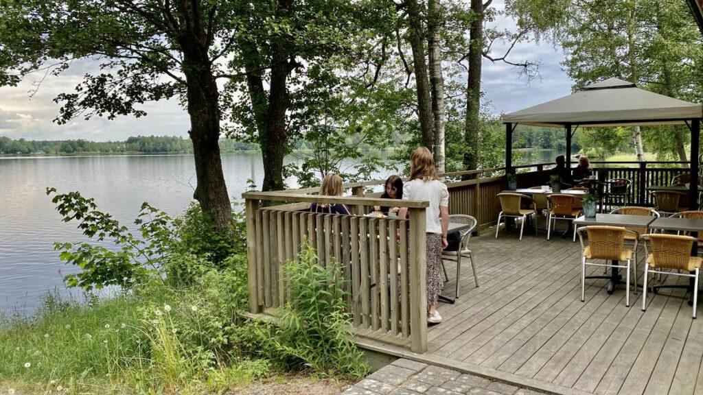 Café vid Teleborgs slott