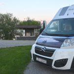 Supermodern camping i Zagreb