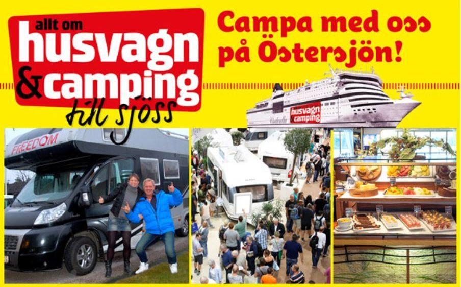 Campa med oss på Östersjön