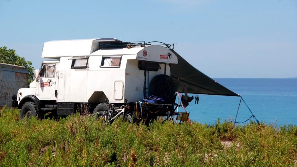 camping i Albanien