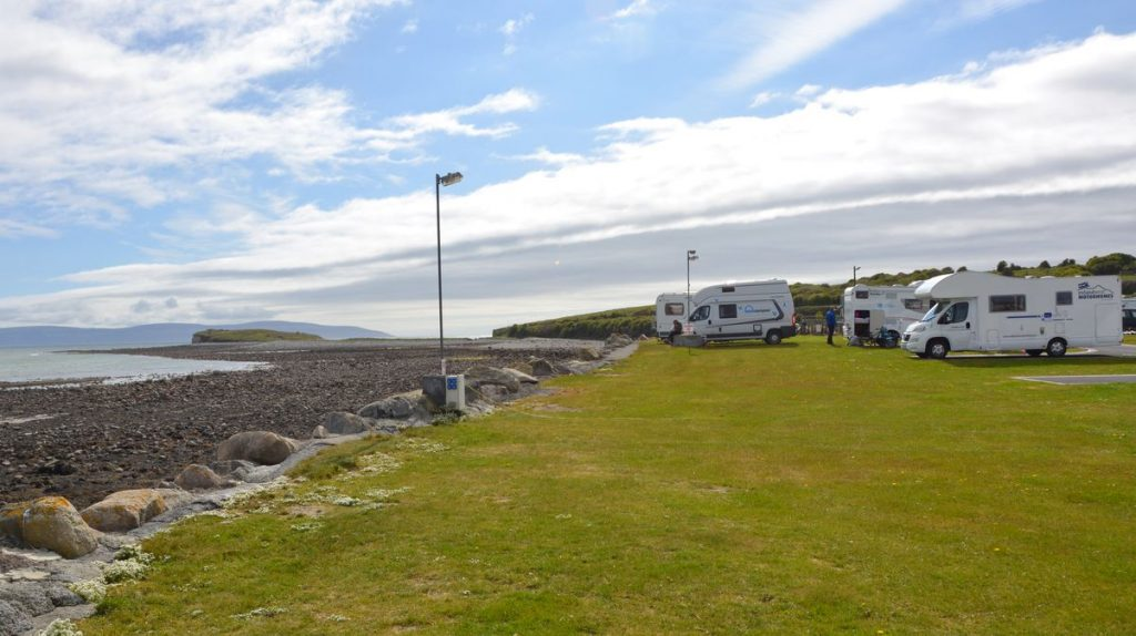 Camping Salthill i Galway