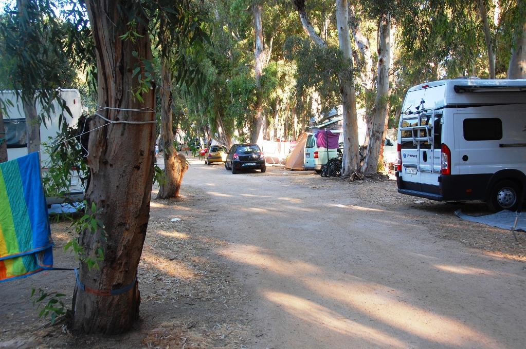 Camping I Calvi - La Pinede på Korsika