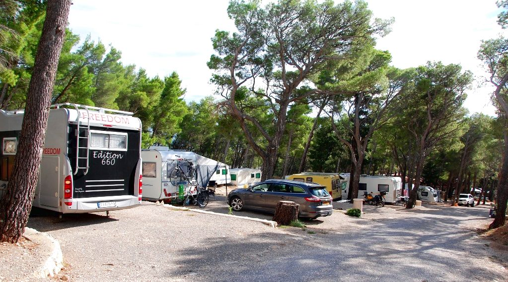 Camping Jure i Makarska i Kroatien
