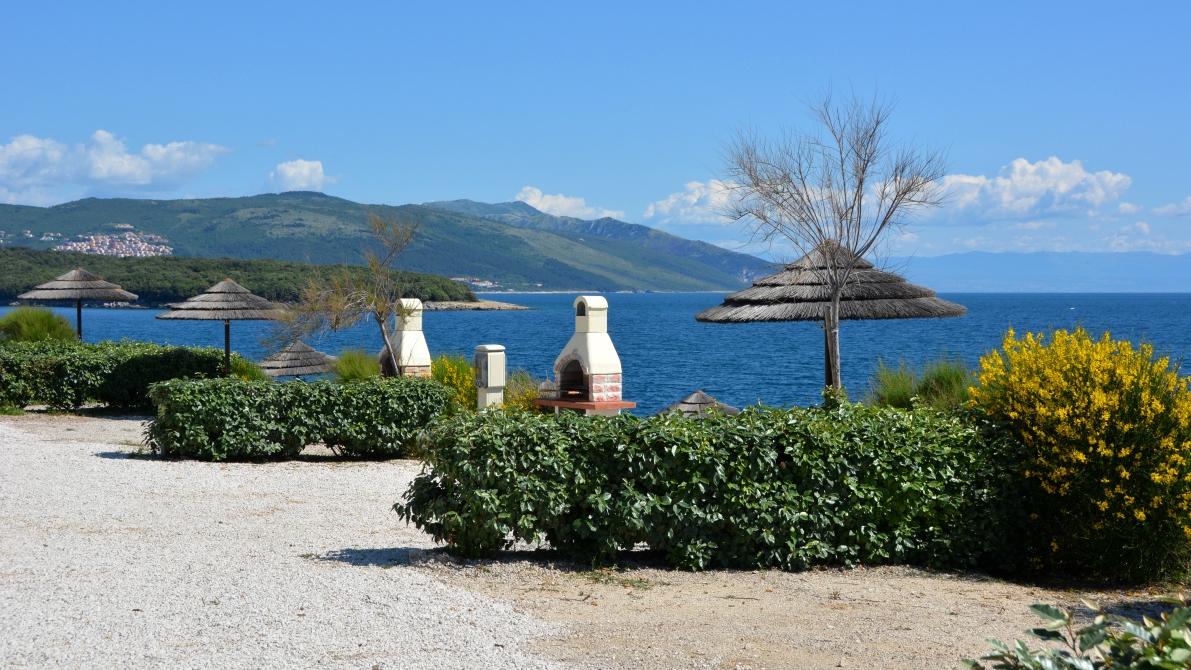 Camping på Istrien