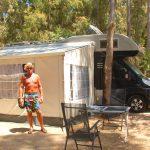 Camping i Calvi, Korsika – vid strand och stad