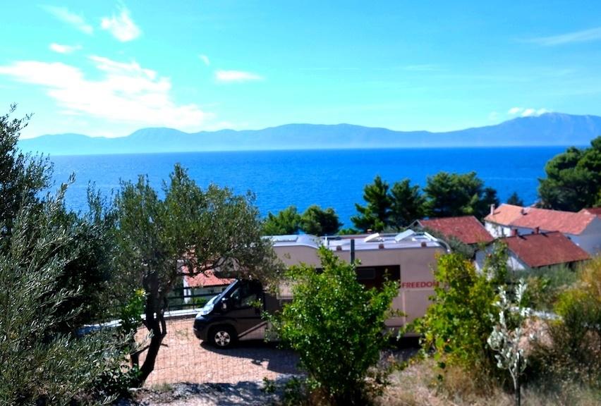 Camp Podaca i Podaca på Makarska rivieran