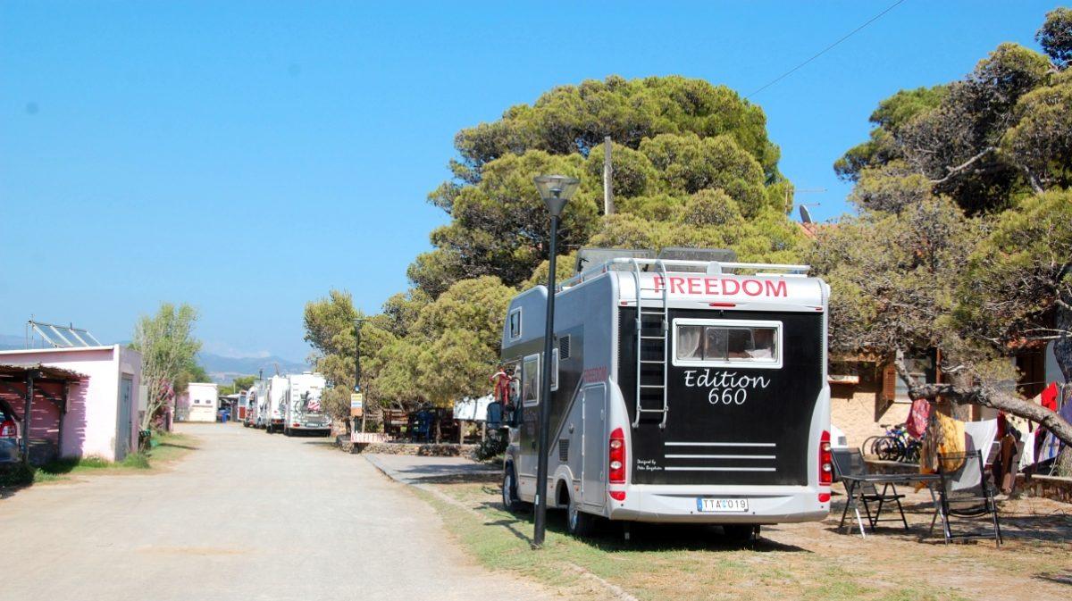 Camping Porto Pino
