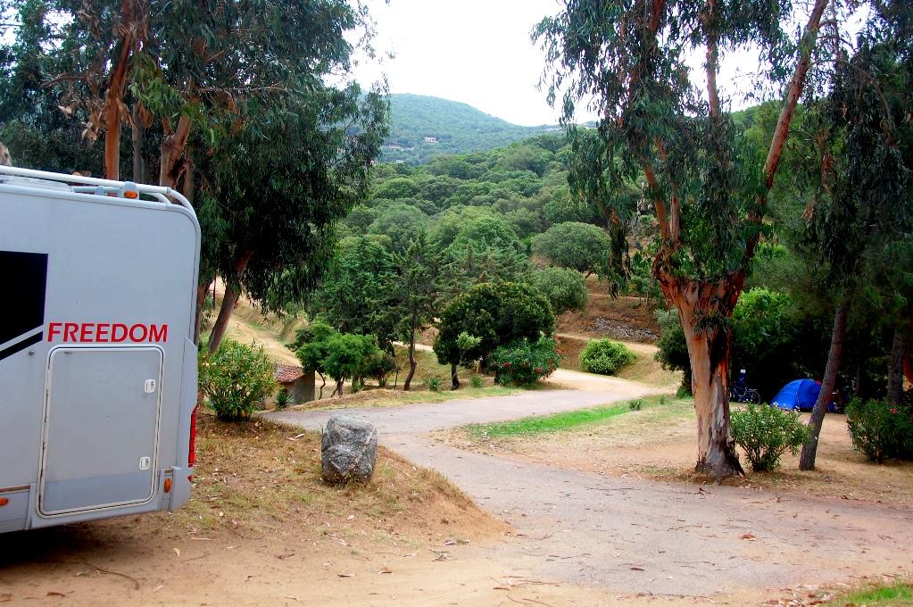 Camping Tikiti, utanför Propriano