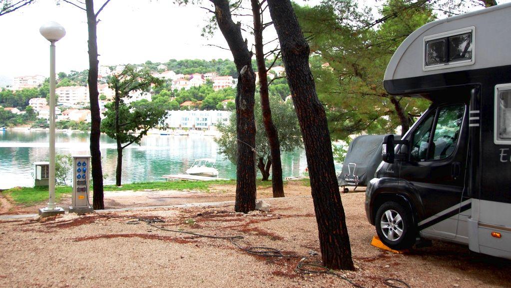 Camping Rozac i Trogir i Kroatien
