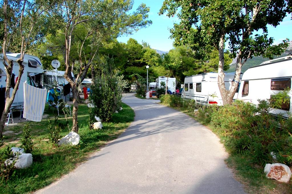 Camping Stobrec i Split i Kroatien