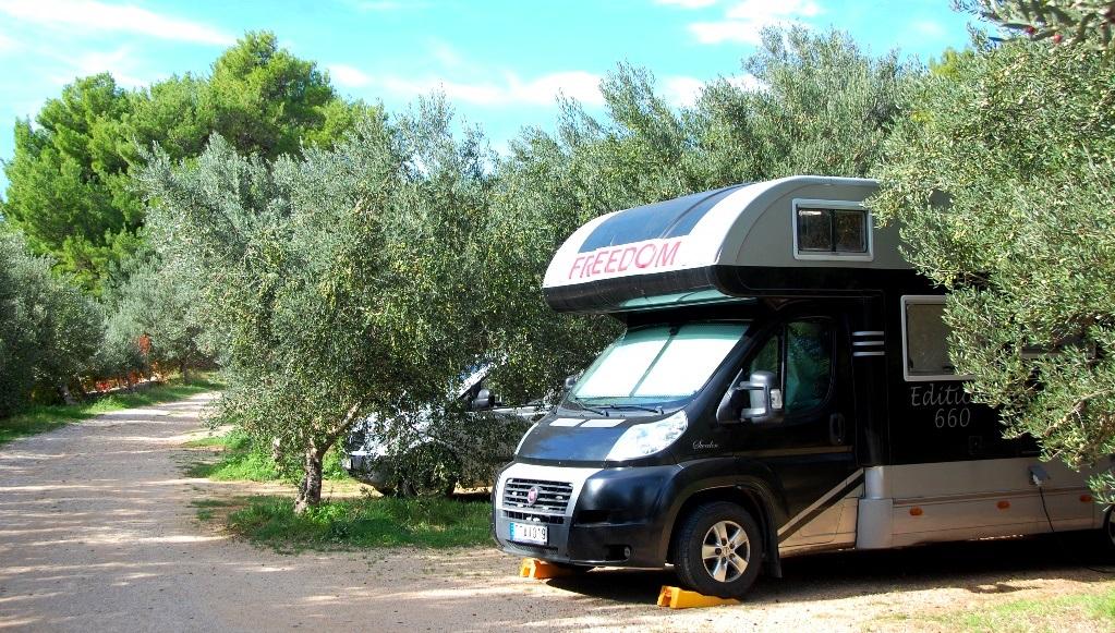 Camping Kito på semesterön Brac