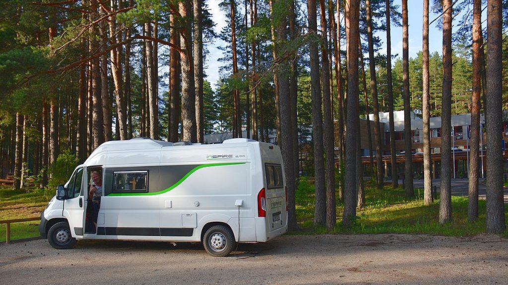 camping i Estland