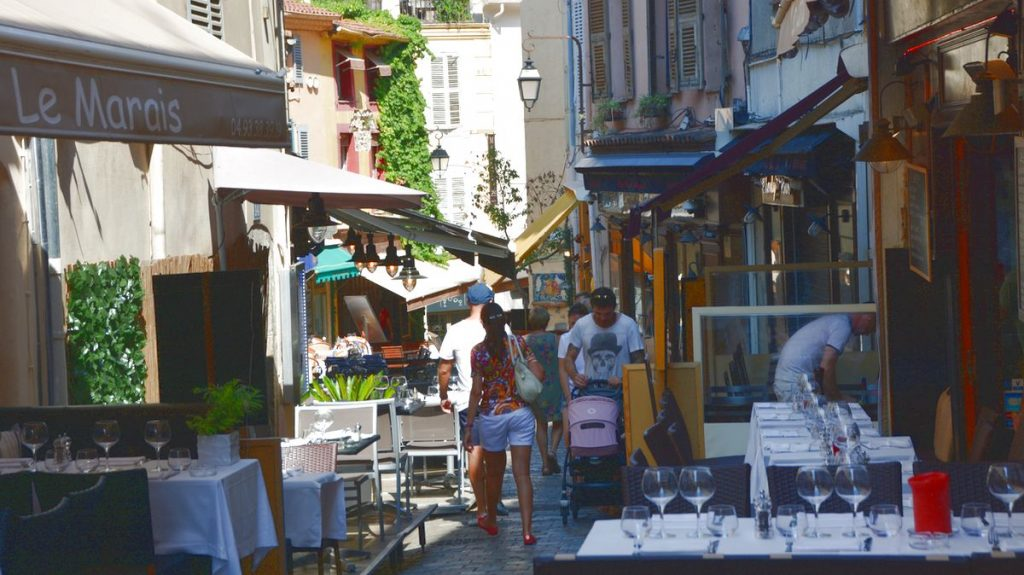 Cannes gamla stan