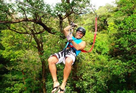 Canopy in Rincon de la Vieja National Park, Costa Rica