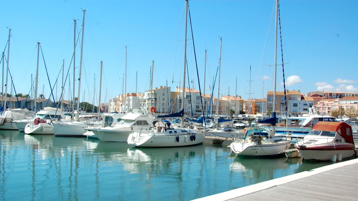 Cap d'Agde båthamn