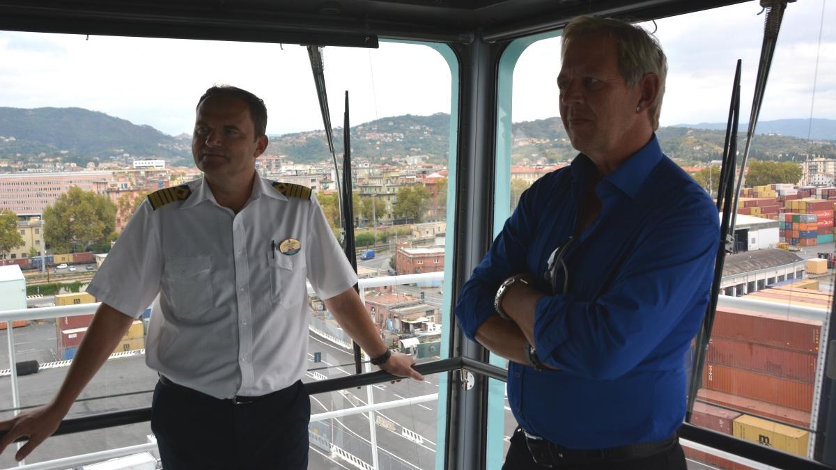 Kaptenen på Freedom of the Seas berättar om livet ombord