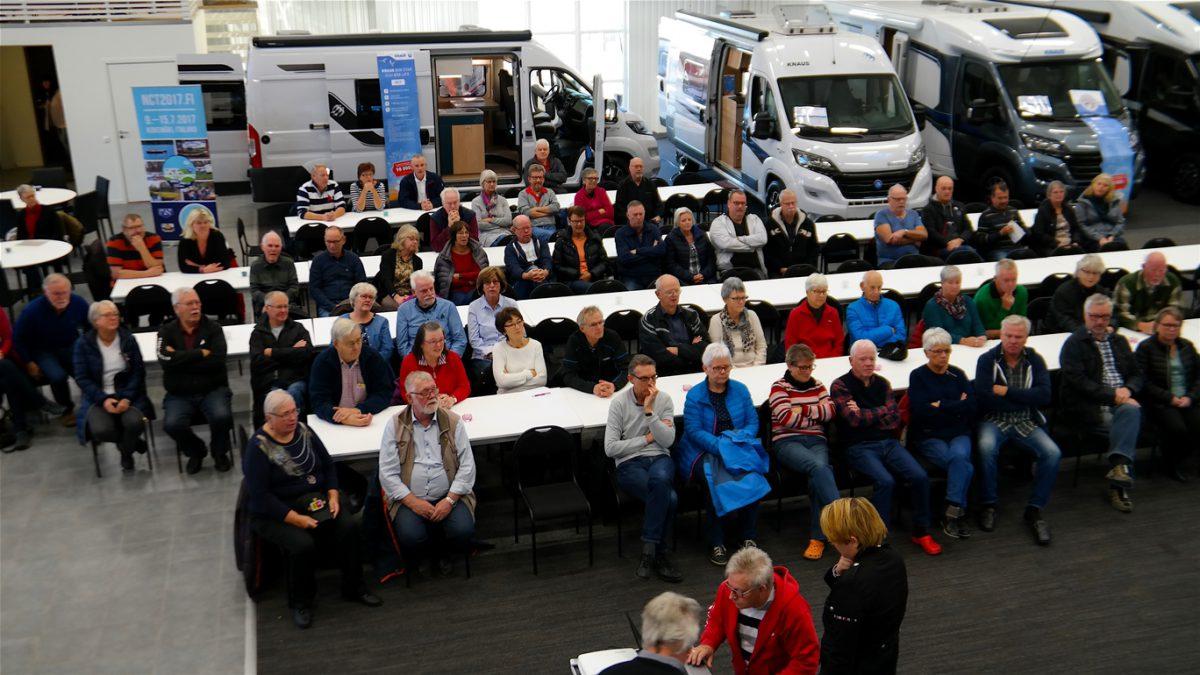 Föreläsning på Caravan Clubs medlemsträff på Husbilslandet i Kristinehamn