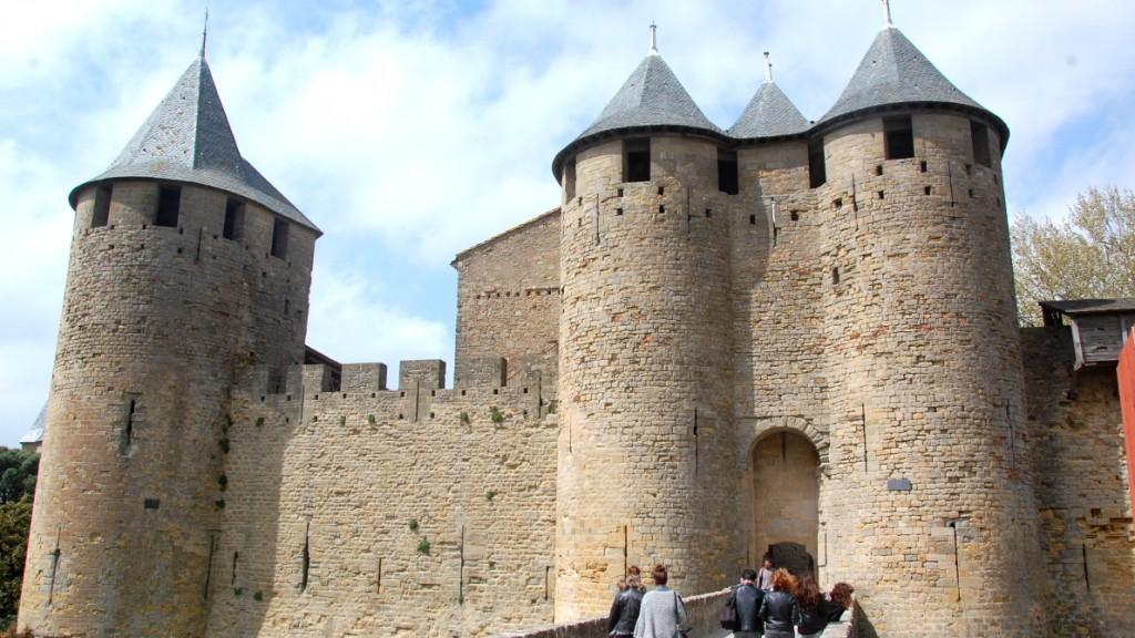 Carcassonne i Frankrike