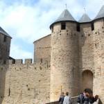 Carcassonne i Frankrike – en befäst medeltidsstad