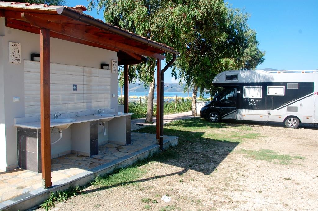CamperStop Cekodhima i Albanien