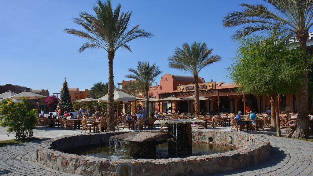 Shopping i El Gouna