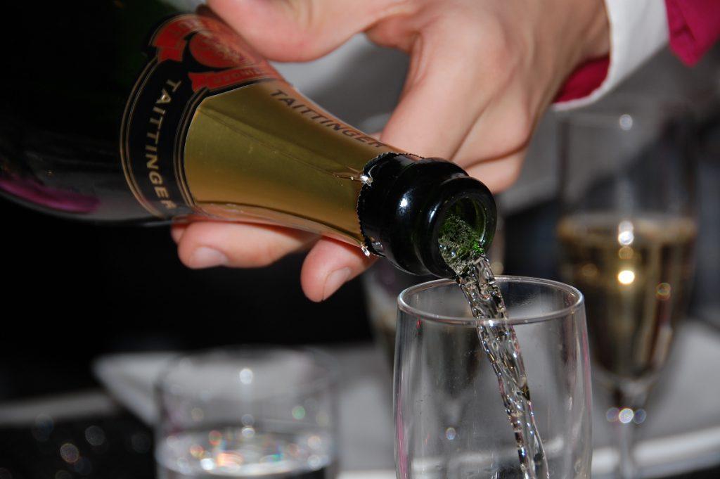 Fakta om Frankrike - champage