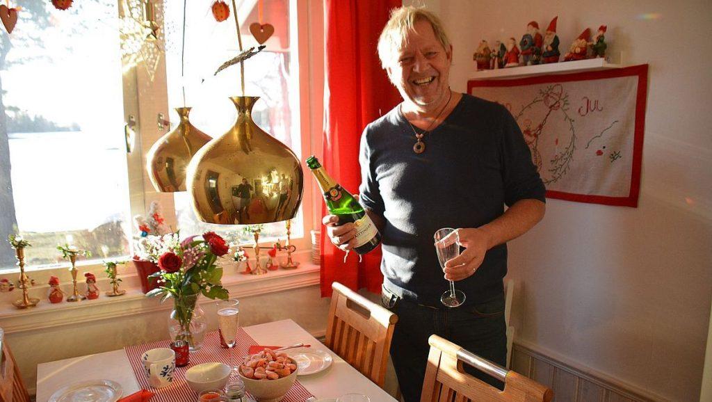 Nyårsfirande i Stockholms skärgård