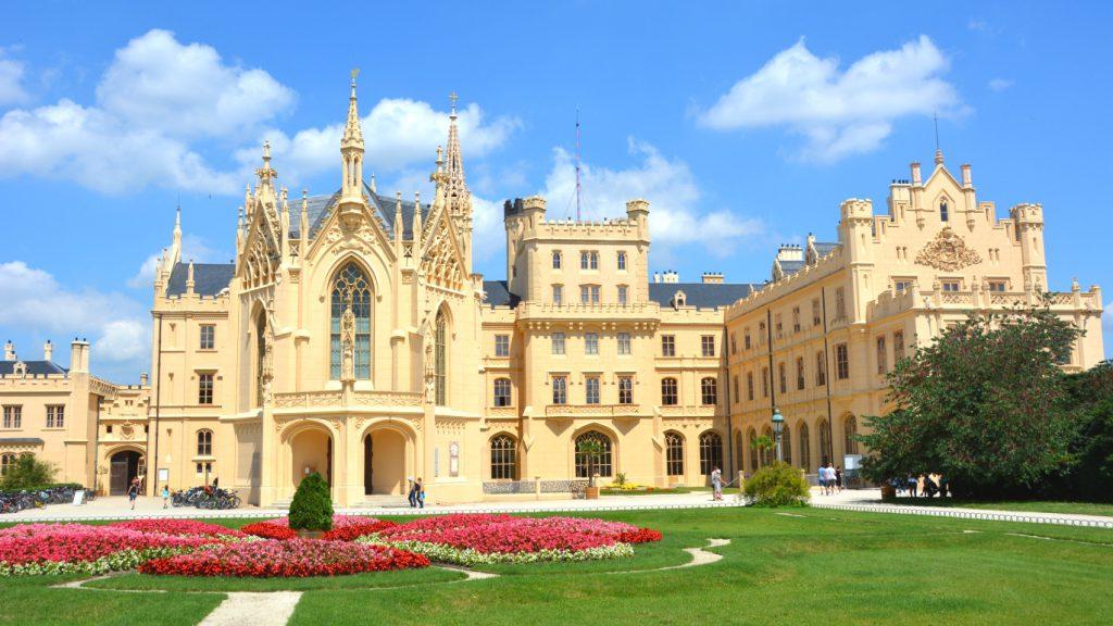 Chateau Lednice i Moravia