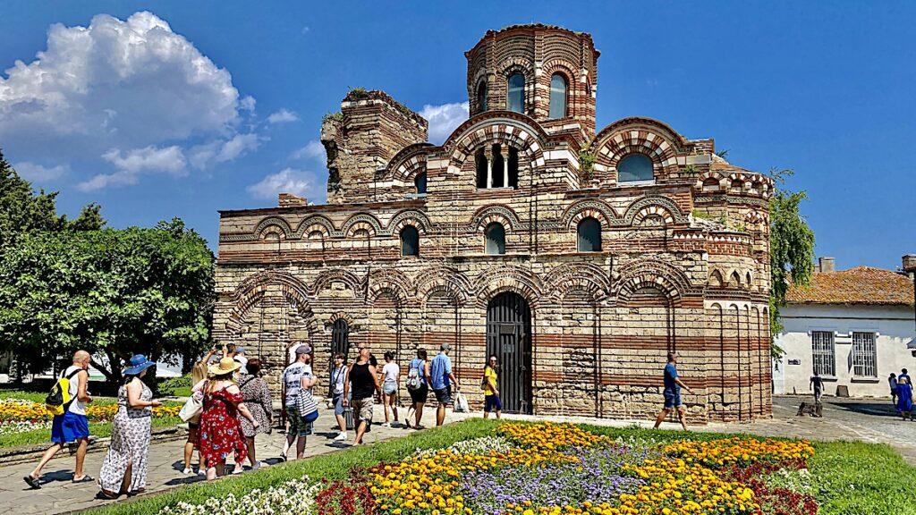 Göra i Nesebar i Bulgarien - Church of Christ Pantocrator