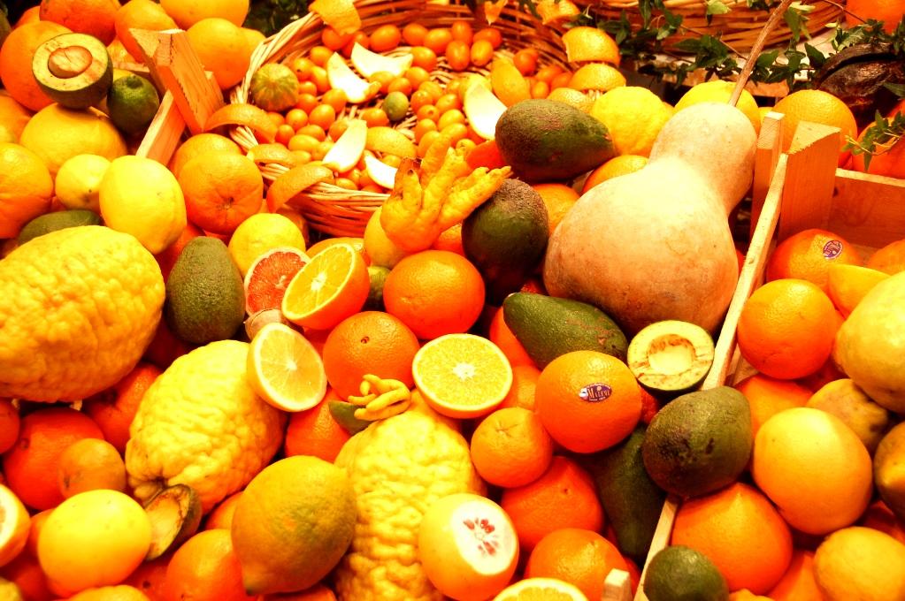 Apelsiner och andra citrusfrukter från Kreta