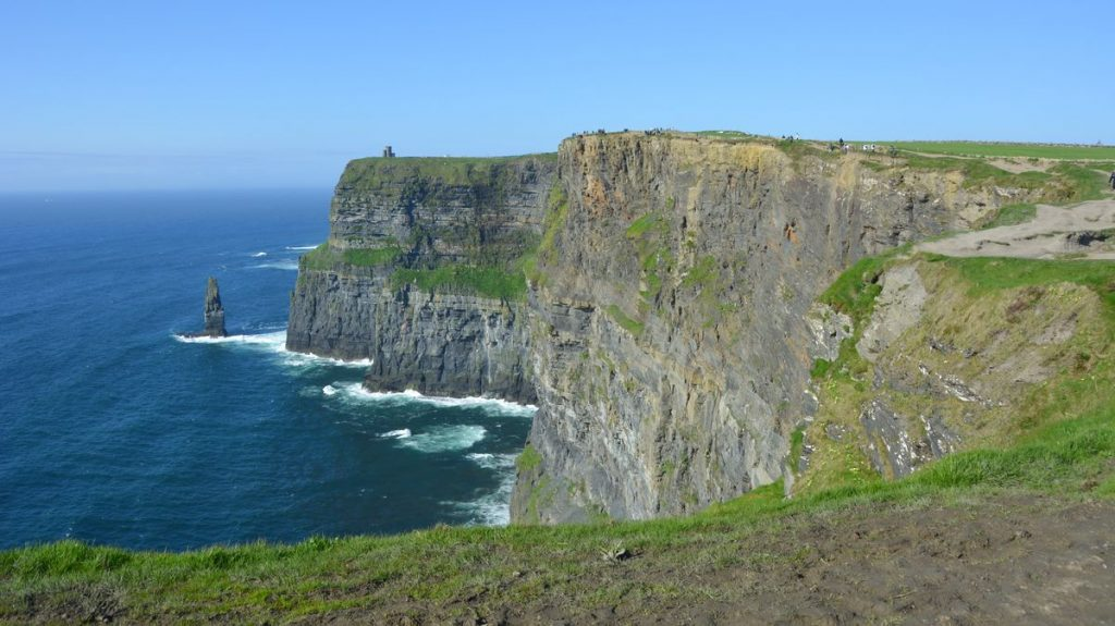 Vackra vägar i Europa - Cliffs of Moher Irland