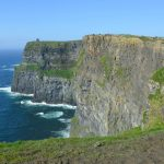 Dramatiska Cliffs of Moher – på Irlands västkust