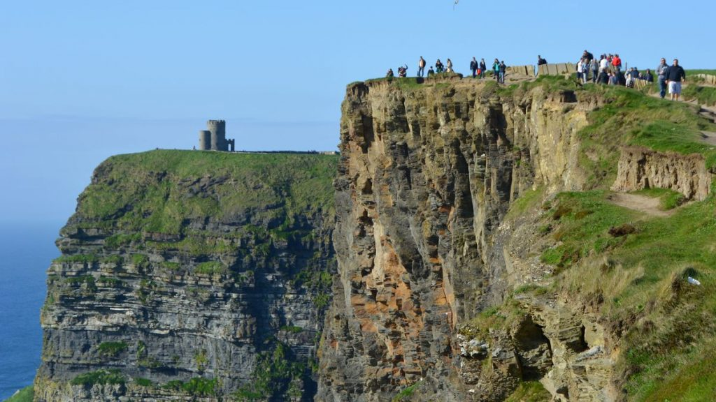 Cliffs of Moher klippor