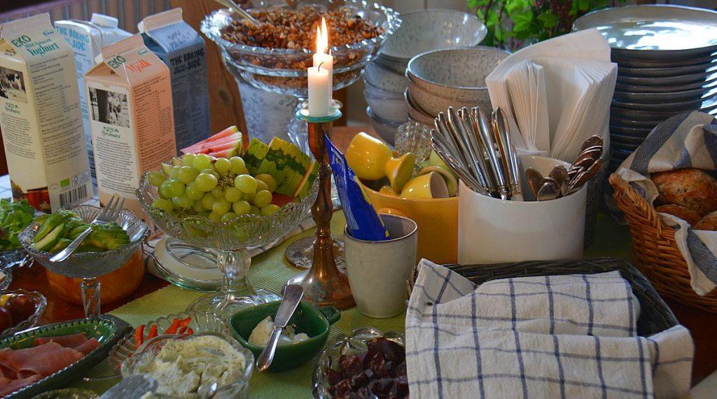 Mysigt boende i Skåne med god frukost