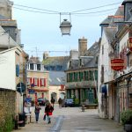 Concarneau i Frankrike – södra Bretagne
