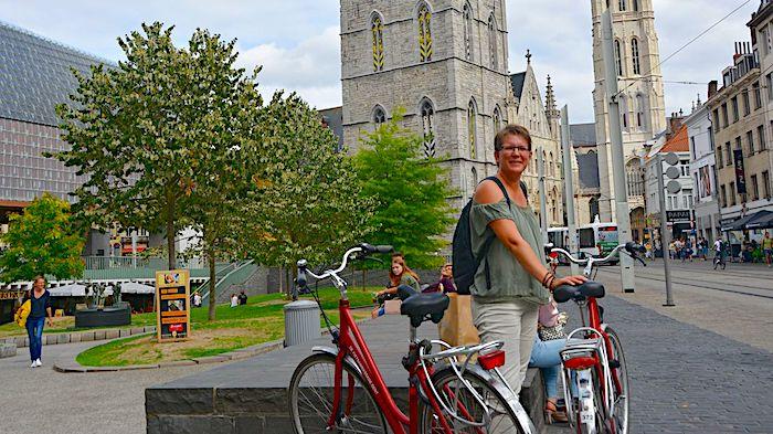 Resa till Belgien cykel