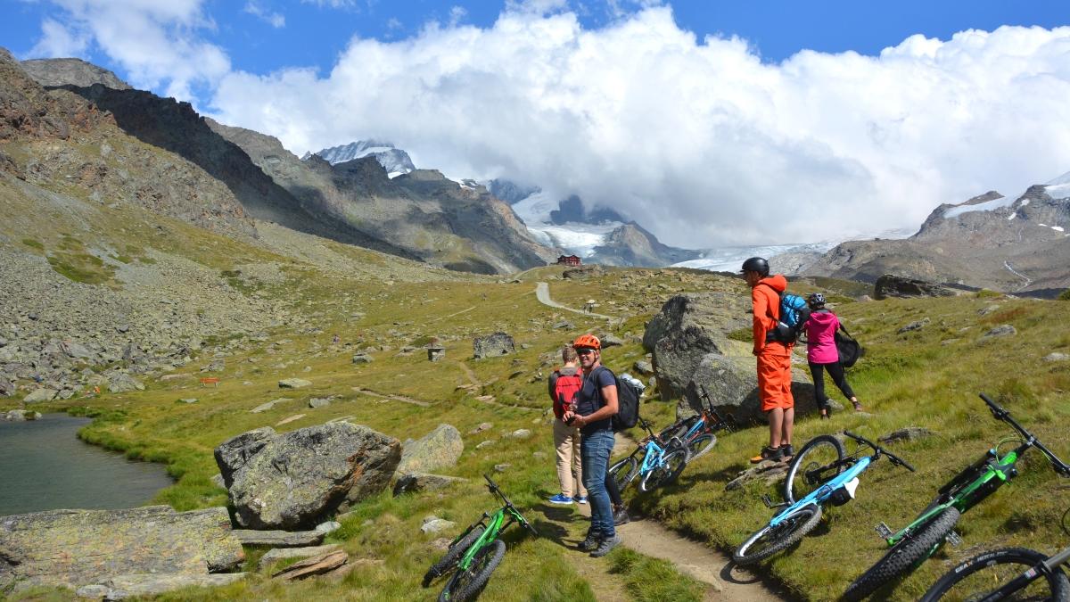 Mountainbike i Zermatt