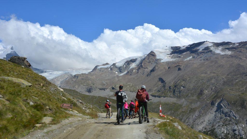 Sommar i Zermatt - mountainbike
